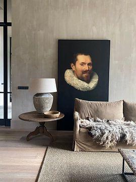 Klantfoto: Portret van een man, anoniem - 1633