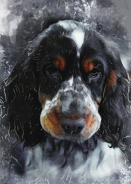 Hund 9 Tiere Kunst #Hund #Hunde von JBJart Justyna Jaszke