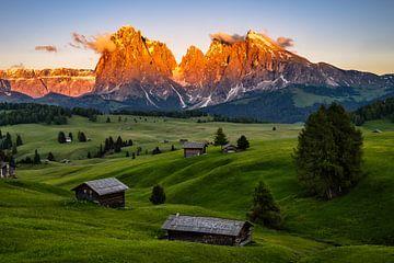 Alpenglühen in Südtirol von Achim Thomae