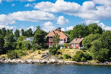 Schärengarten an der schwedischen Ostseeküste vor Stockholm von Rico Ködder