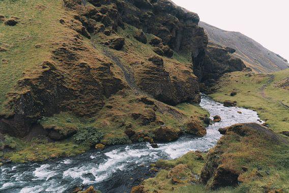 Landschap in IJsland van Thea Sijtsma
