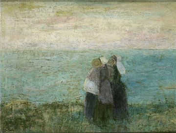 Vrouwen aan zee, Jan Toorop sur
