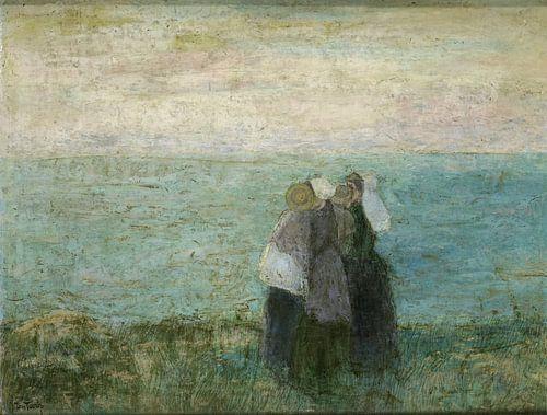 Vrouwen aan zee, Jan Toorop van