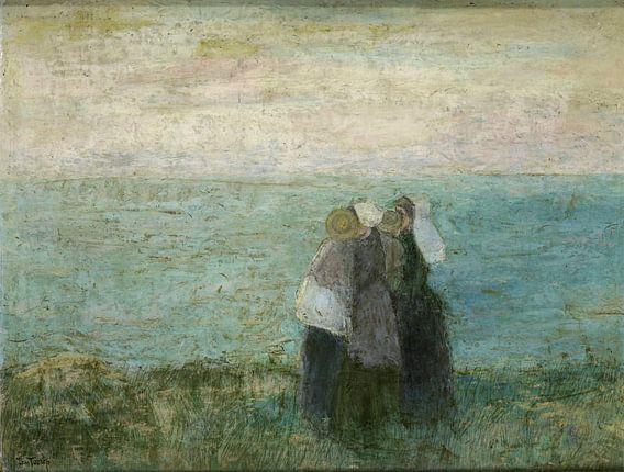 Vrouwen aan zee, Jan Toorop