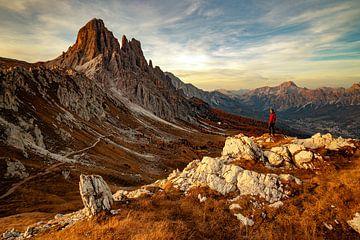 Croda da Lago - Veneto - Italië van Felina Photography