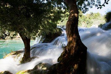 Bruisende waterval van Daan Ruijter