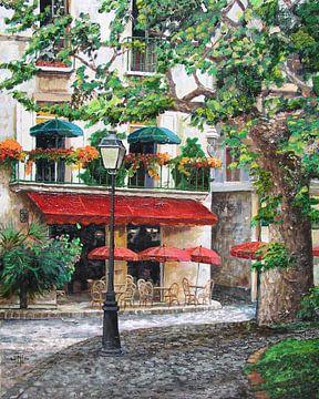 Café Beauclaire van Trevor Neal
