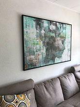 Klantfoto: Angie green van Atelier Paint-Ing