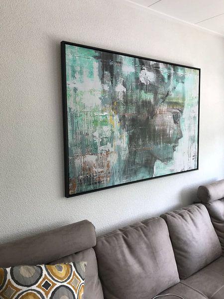 Klantfoto: Angie green van Paint- Ing