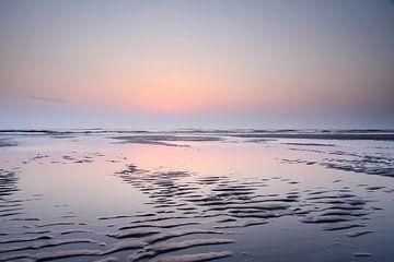 Sonnenuntergang auf Texel von Irma Grotenhuis