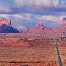 Monument Valley USA van Dave Verstappen