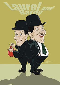 Stan Lauren und Oliver Hardy von NoëlArts