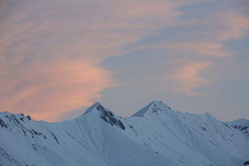 Sonnenaufgang in den Berner Alpen
