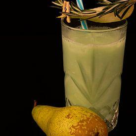 Wodka-kokosnoot-perensap cocktail. van Babetts Bildergalerie