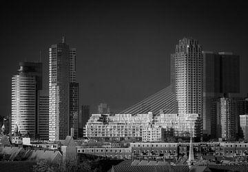 Erasmus-Brücke Rotterdam von Henk Miedema