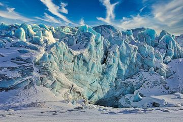 Gletsjerfront van Kai Müller