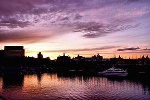 Soleil Couchant sur Montreal