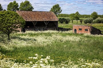 Boerenschuur, Maasbommel von Ab Wubben