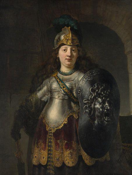 Bellona, Rembrandt von Rembrandt van Rijn