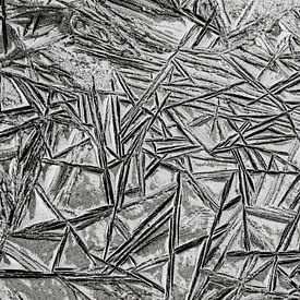 Gefrorenes Wattenmeer. von AGAMI Photo Agency