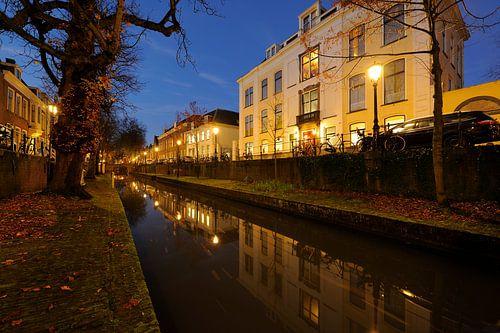 Evert Zoudenbalchhuis aan de Nieuwegracht in Utrecht von Donker Utrecht