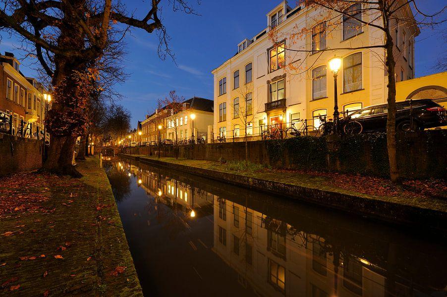 Evert Zoudenbalchhuis aan de Nieuwegracht in Utrecht