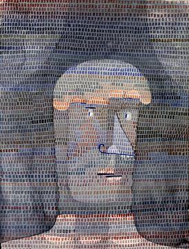 Paul Klee, Atletenhoofd, 1932 van Atelier Liesjes