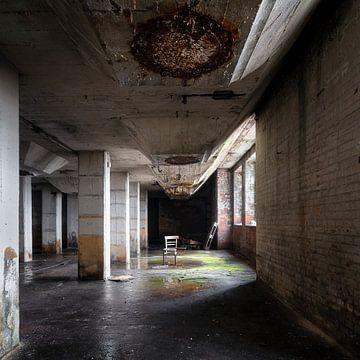 Verlassene Industrie im Verfall. von Roman Robroek