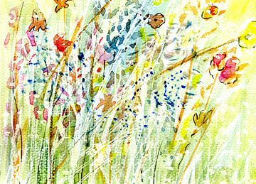 Frühlingsreigen von Claudia Gründler