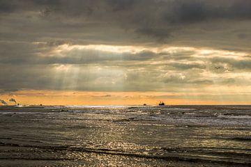 Zeezicht sur Dirk van Egmond
