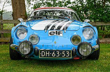 Renault Alpine A110 van