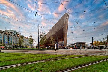 Rotterdam Central hall de la gare sur Anton de Zeeuw