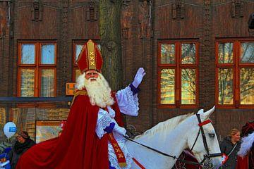 Sinterklaas in Amsterdam van Mirjam de Jonge