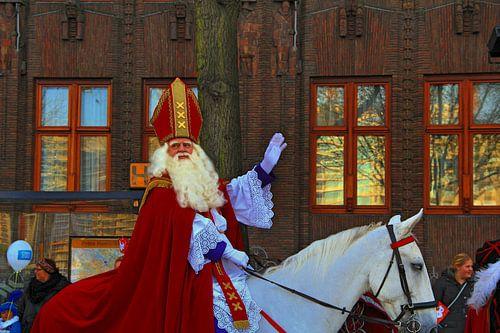 Sinterklaas in Amsterdam van