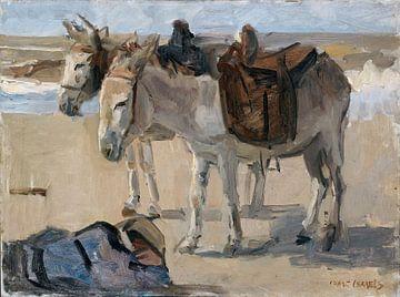 Zwei Esel - Isaac Israels von