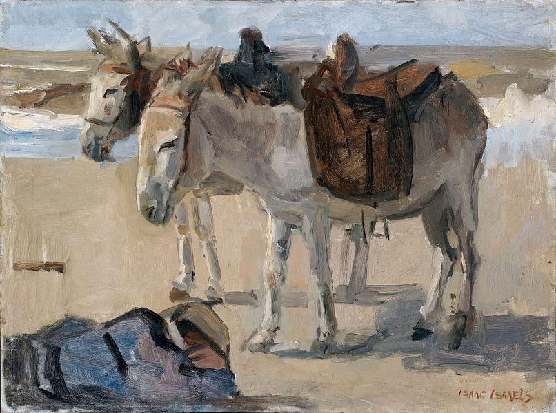 Twee ezeltjes, Isaac Israels van Hollandse Meesters