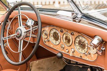 Mercedes-Benz 500K Luxus Roadster 1930er Jahre Luxus-Cabriolet Tourenwagen von Sjoerd van der Wal