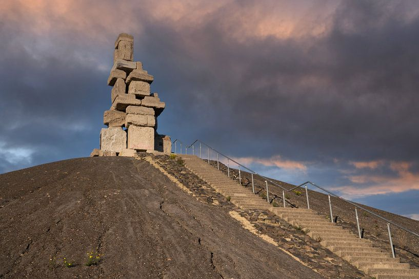 Rheinelbe afvalstortplaats, Gelsenkirchen, Duitsland van Alexander Ludwig