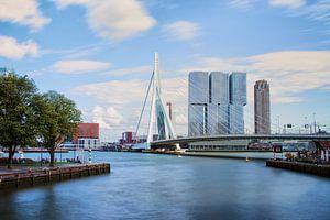 Erasmusbrug met de Rotterdammer van