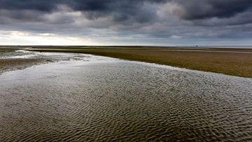 Waddenzee, Friesland. Nederland 2014. von Arno Fooy