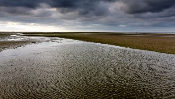 Waddenzee, Friesland. Nederland 2014. van Arno Fooy