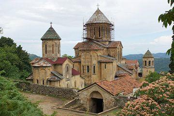 Klooster van Kutaisi, Georgië, Europa van Alexander Ludwig