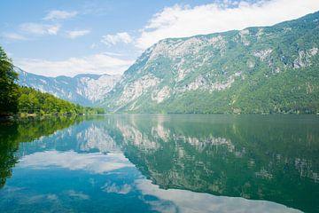 Bohinj-See in Slowenien