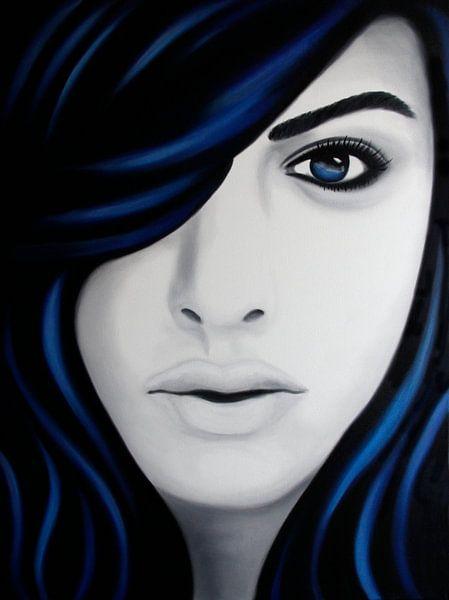 Skye portret popart