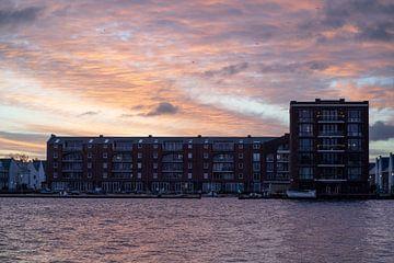Sonnenaufgang in Spaarndam von Manuuu S