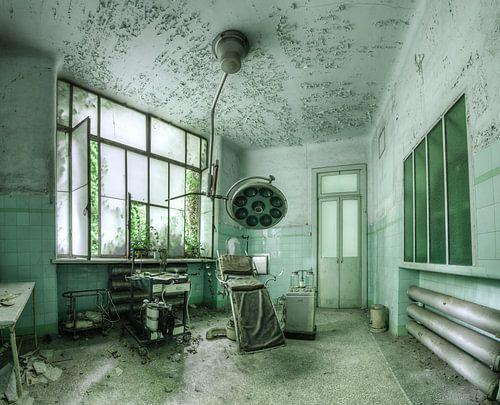 De operatie kamer van Alexander Bentlage