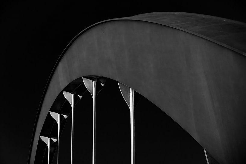Mörschbrücke Berlin-Charlottenburg van Holger Debek