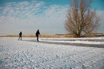 Friesland, schaatsen von Elisabeth Fotografie