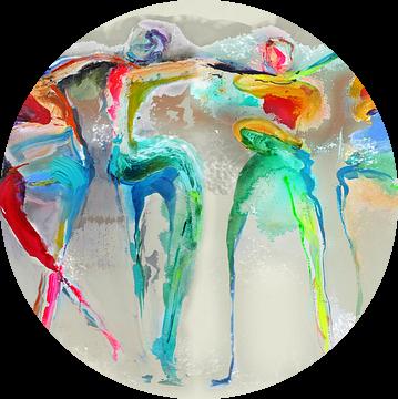 All Happy Connected People  van Atelier Paint-Ing