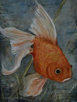 Feng Shui - Goldfisch von Christine Nöhmeier